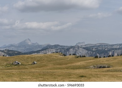 Mountain refuge at the top of the Vercors plateau