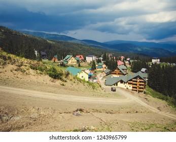 mountain resort in the Carpathians