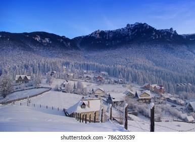 mountain resort in Romanian Carpathians. Durau