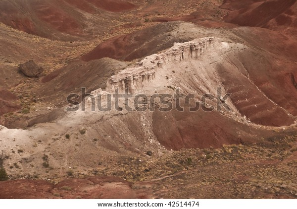 Mountain Ridge at the Painted Desert National Park