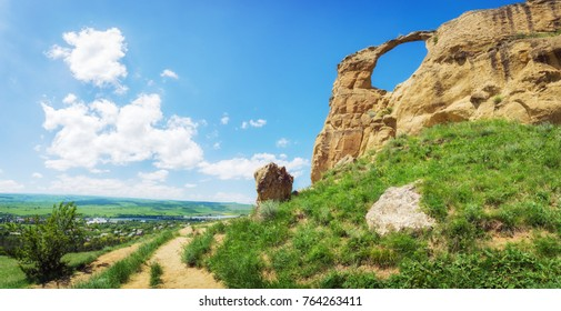 "Mountain ""Ring"" near the Kislovodsk, Stavropol region, Russian Federation."