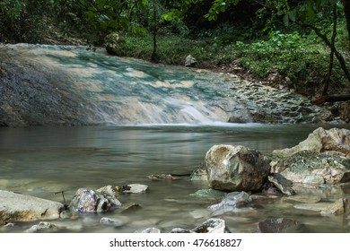 Mountain River Bzyb . Abkhazia