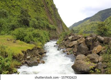 Mountain River, Ecuador