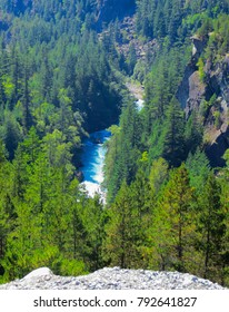 Mountain rivers in the forests near Vancouver. September 2014.British Columbia, Canada
