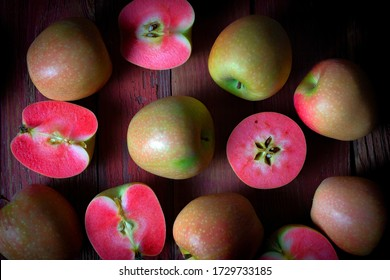 Mountain Rose Red Fleshed Apples