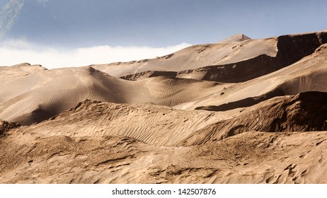 The mountain sand of bromo
