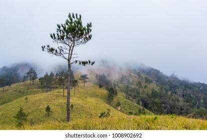 Mountain scenery in Binh Thuan, Vietnam