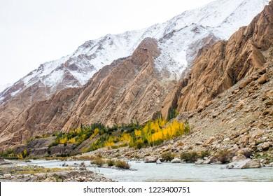 mountain scenery in Leh Ladakh, India
