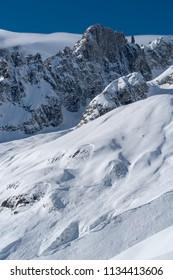 Mountain scenery, Mont Blanc range, Aosta Valley, Italy