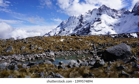Mountain Scenery on Salkantay Trek