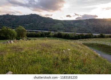 Mountain scenic in the English Lake District, Cumbria, United Kingdom