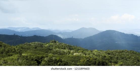 mountain see view phuket