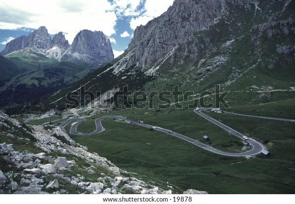 Mountain Serpentine Road