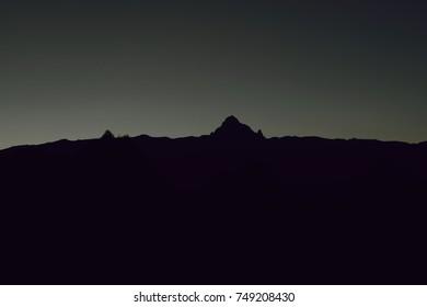 The Mountain Silhouette