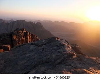 Mountain Sinai, Egypt