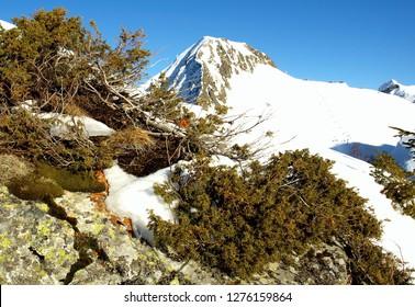 mountain in skay grren
