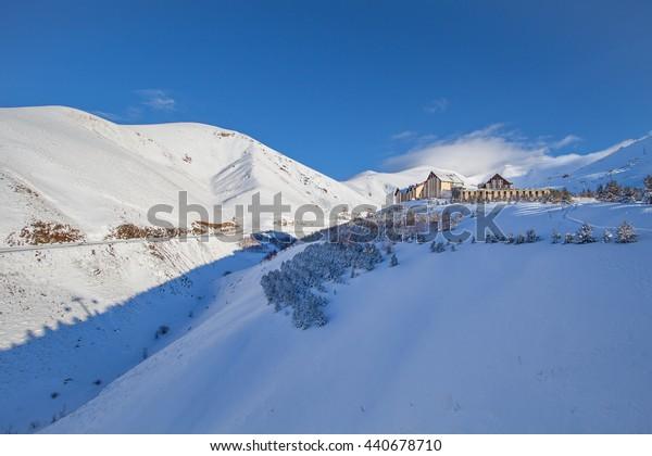 Mountain skiing and snowboarding - Palandoken, Erzurum, Turkey