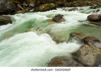 Mountain stream, Adamello-Brenta Natural Park, Italy