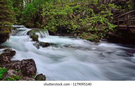 Mountain stream in Austria