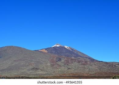 Mountain Teide National Park in Tenerife. Canary Islands. Spain.