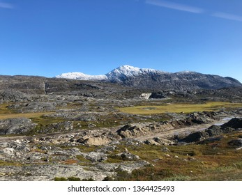 Mountain top outside Nuuk in Greenland