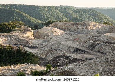 Mountain Top Removal Site in central West Virginia
