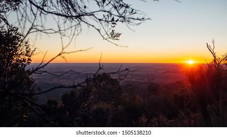 Mountain Top Sunset, Bunya Mountains