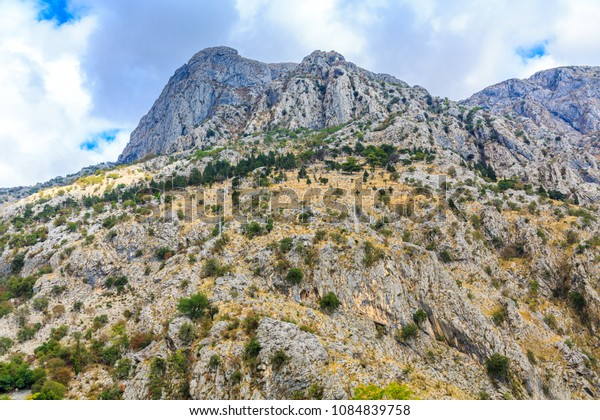 Mountain Tops Behind Kotor