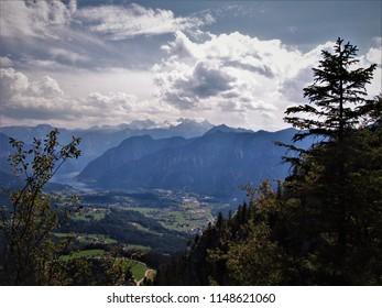 Mountain view, Austria. - Shutterstock ID 1148621060