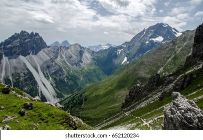 Mountain view in Austria (Stubaital)