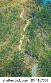 Mountain View at Ban Nor Lae Operations Base, Thailand.