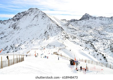 Mountain View at Grandvalira Ski Resort - January 2016 - Les Escaldes, Andorra