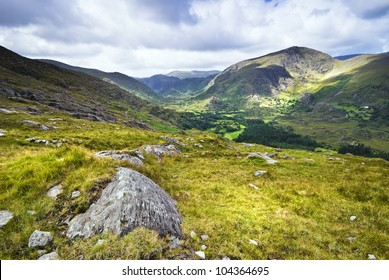 Mountain view in Killarney National Park, County Kerry, Ireland