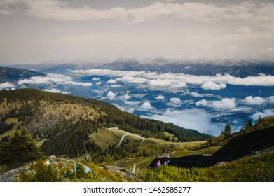 "Mountain View from ""Kronplatz"" in Southtyrol, Italy"
