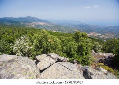 Mountain view near Ulassai,  eastern Sardinia, Italy