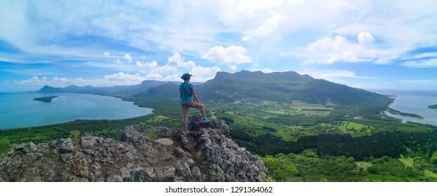 mountain view panorama