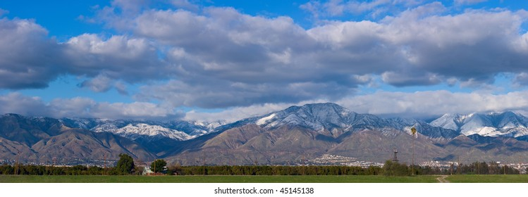Mountain view from Redlands, California