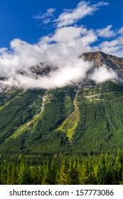Mountain views, Kananaskis Country Alberta Canada