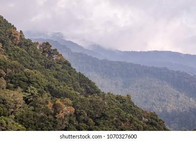 Mountain views San Gerado de Dota, Costa rica
