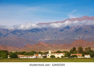 Mountain village Cachi, Ruta 40, Salta, Argentina