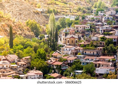 Mountain village of Palaichori. Nicosia District, Cyprus.