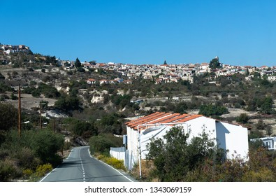 Mountain village in the Republic of Cyprus