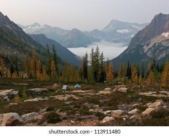 Mountain vista, Pacific Crest Trail; section L