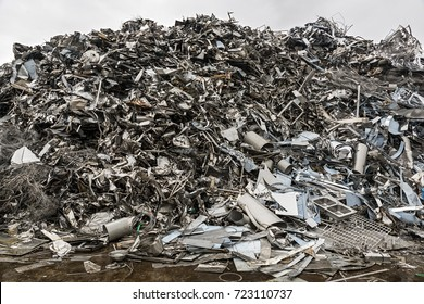 Mountain of waste, steel