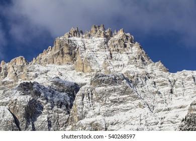 Mountain winter snow