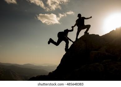 mountaineer help and self-reliance