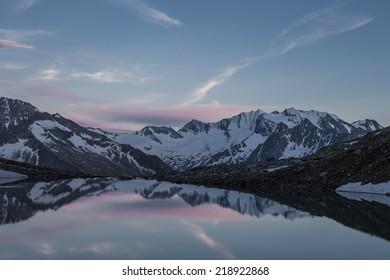 mountainlake - Shutterstock ID 218922868