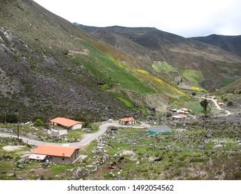 mountainous rural landscape in Venezuelan paradise