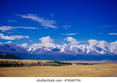 Mountains of Altai, the great nature of Russia