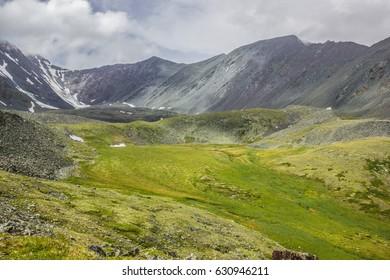 The mountains in the Altai Krai,Russia
